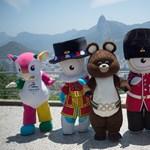 Fotók: Nevük még nincs, de bemutatták a riói olimpia kabalafiguráit