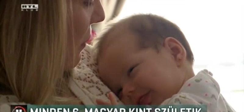 Csaknem minden hatodik magyar külföldön születik