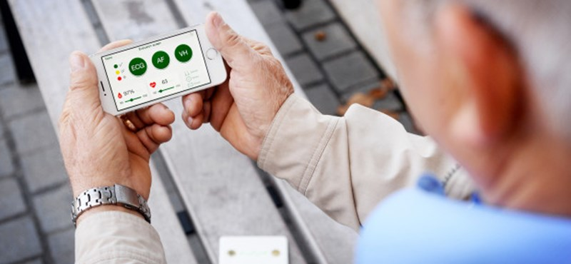 Új funkciót kapott a magyar kütyü, mellyel otthon is csinálhat egy gyors EKG-t