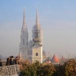 Újságírók tüntetnek Zágrábban a sajtószabadságért