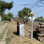 Öttel mehetnek itt a villamosok, de már nem sokáig - fotó