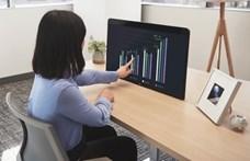 Hatalmas képernyő, nyolc mikrofon: saját táblagépet ad ki a Zoom