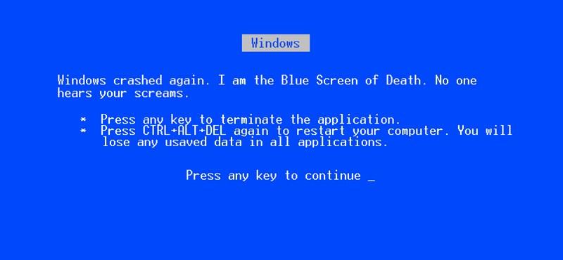 Fontos: ne frissítse a Windows-t, vagy ha már megtette, töröljön