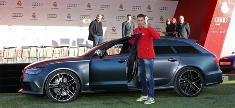 Megkapták az új Audikat a Real Madrid focistái – teljes lista