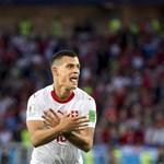 Sassal hergelték a szerbeket a svájci gólszerzők