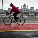 Itt egy ötlet az ország talán legzsúfoltabb kerékpárútjának problémájára