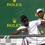 """""""Meg akarsz ölni?!"""" – Usain Bolt és Lewis Hamilton egy kocsiban"""