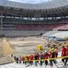 Hajnalig dübörgött a hangpróba a Puskás Stadionban és környékén