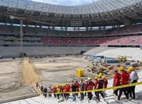 Hajnalig dübörgött a hangpróba a Puskás-stadionban és környékén