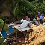 Drámai videó készült a halálos Fülöp-szigeteki földcsuszamlásról