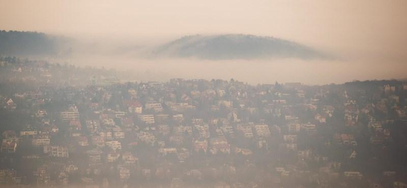 Ködben marad ma is az ország kétharmada