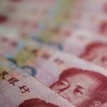 Nőtt a kínai devizában bonyolított fizetési forgalom az év első felében