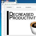 Chrome kiegészítő a zavaró képek elrejtéséhez a weboldalakon