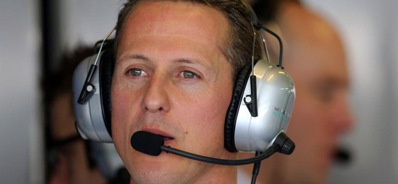 Michael Schumacher már egyedül lélegezhet