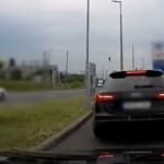 Itt a rendőrség legújabb civil autós videója – most a gyorshajtókra utaztak