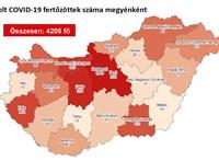16 újabb koronavírus-fertőzöttet találtak, Budapesten egyet sem