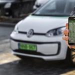 Féláron parkolhatnak a fővárosban a benzines carsharing autók