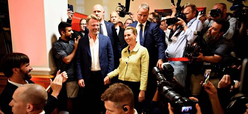 A baloldal nyerte a dániai választást