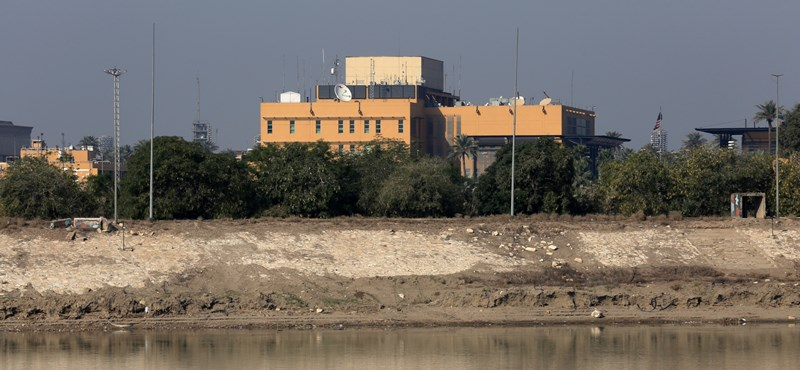 Missiles attacked the US embassy in Baghdad