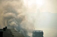 Több helyen még mindig nagyon rossz a levegő