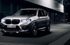 Kereken 600 lóerős lett az új BMW X3 M
