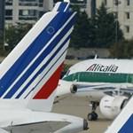 Figyelmeztetést kaptak az Alitalia utasai Ferihegyről
