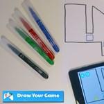 Saját mobiljátékot rajzolhat: 4 szín és ez az ingyenes alkalmazás kell hozzá