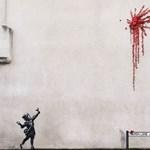Bálint-napi ajándékot kapott Banksytől Bristol