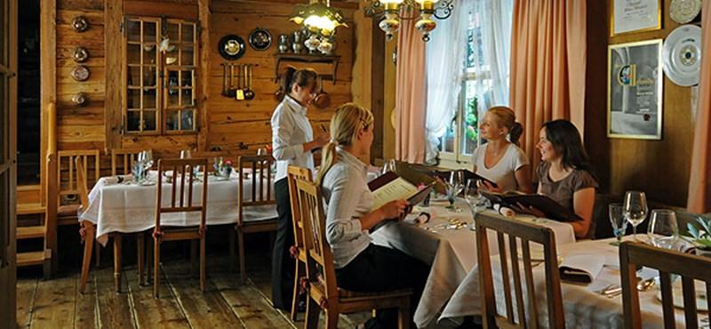 Luxus étterem feszengés nélkül