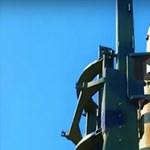 Megjött a felvétel: 4 perces videót tett közzé Észak-Korea a keddi nagy rakétakilövéséről