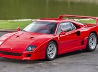 Szinte vadonatúj Ferrari F40-et vásárolna? Most megteheti