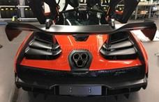Kezdő F1-pilóták kíméljenek! McLaren Sennát árulnak Budapesten