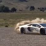Kibérelte a Lamborghinit, 13 milliós bírságot szedett össze gyorshajtásért – alig 4 óra alatt