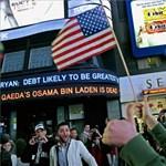Így ünnepelték Oszama bin Laden megölését - fotók