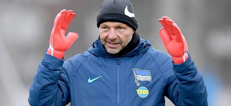 Újra Petry Zsolt a Hertha kapusedzője
