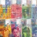 Száznyolcvan forinton rögzíthetik a svájci frankot