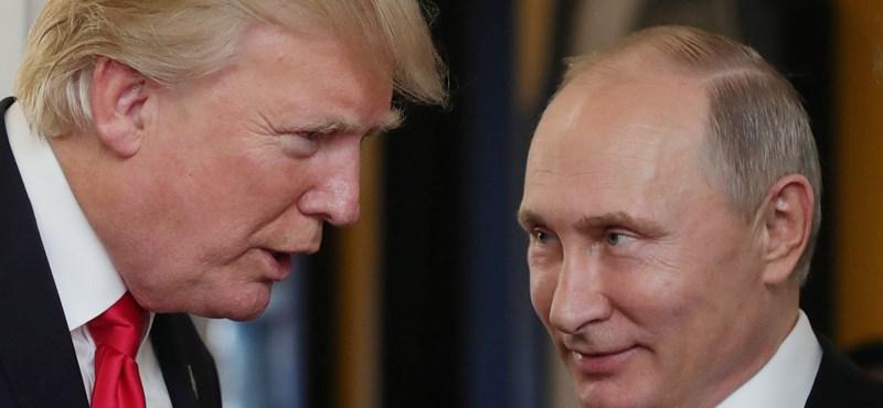 Trump meghívta Putyint a Fehér Házba