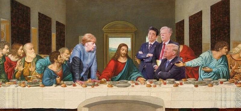Elöntötték az internetet a mémek a remekül sikerült G7-fotó után