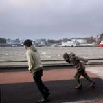 Vihar tombol Észak-Európában, több városban bezárták az iskolákat