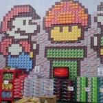 Super Mario kólában utazik