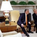 Újabb videót tett ki Trump az Orbán-látogatásról