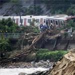 Már kétszázan haltak meg a japán esőzésekben