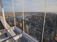 Szédítő élmény: üvegliftek fognak közlekedni New York felhőkarcolójának oldalán