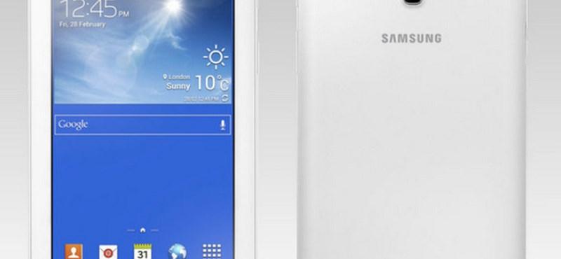 Olcsó tablet a Samsungtól