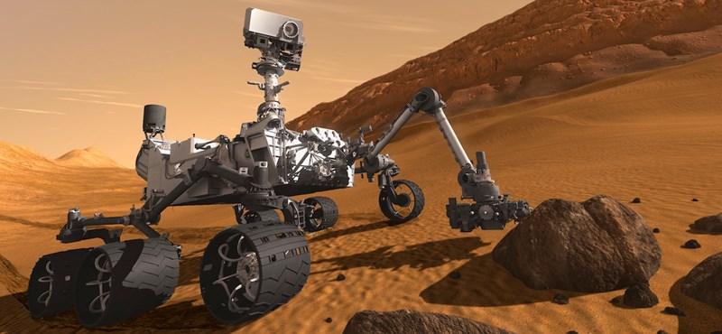 A szomszéd lakás után a Marson is bevetették az ütvefúrót – és meghozta az áttörést
