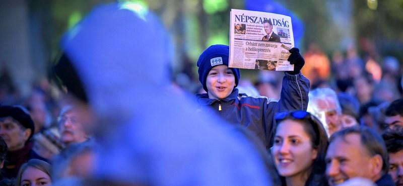Hétfőn is egy Rogán-sztorival jelentkezett volna a Népszabadság