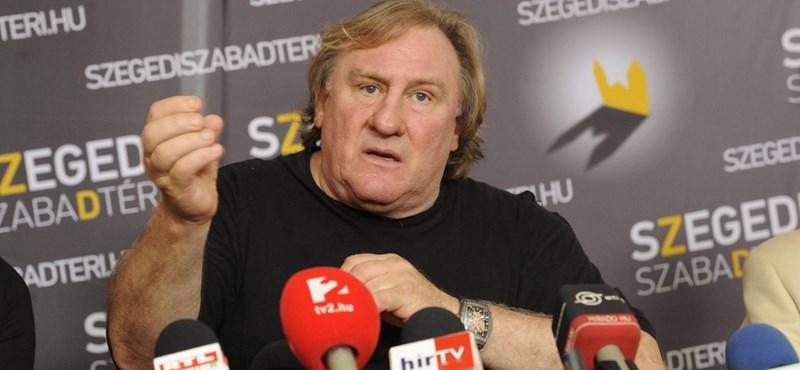 Depardieu máris összehaverkodott Bodrogi Gyulával Szegeden