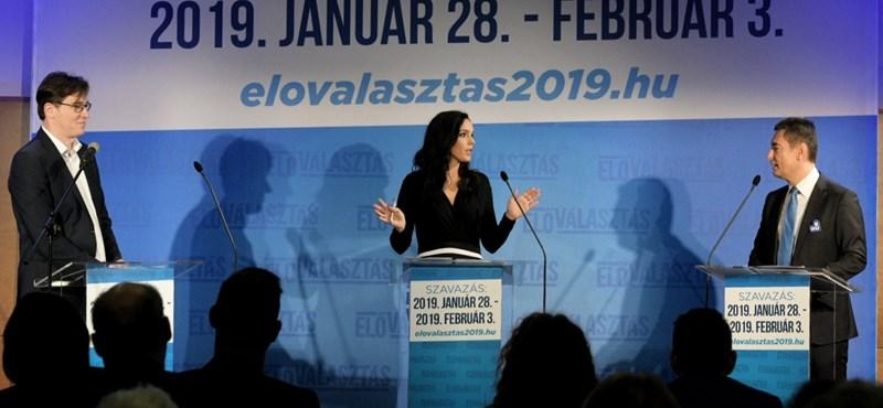Karácsony és Horváth első előválasztási vitája: A Fidesz meg fog bukni
