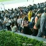 Mit tesz a kínai diák, ha túl nagy a hőség?