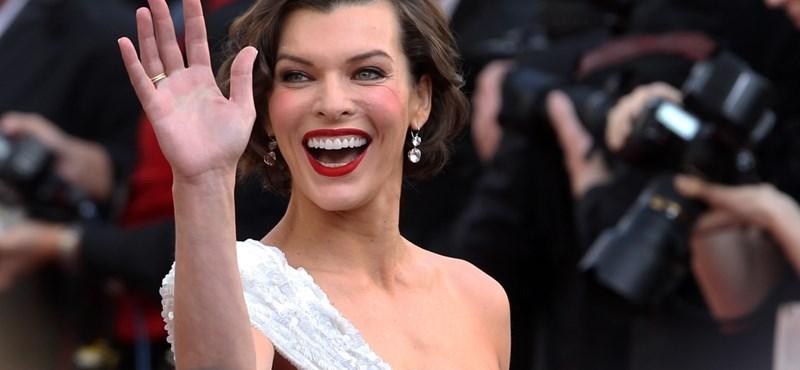 """Egy """"horrorabortusz"""" után ismét gyereket vár Milla Jovovich"""